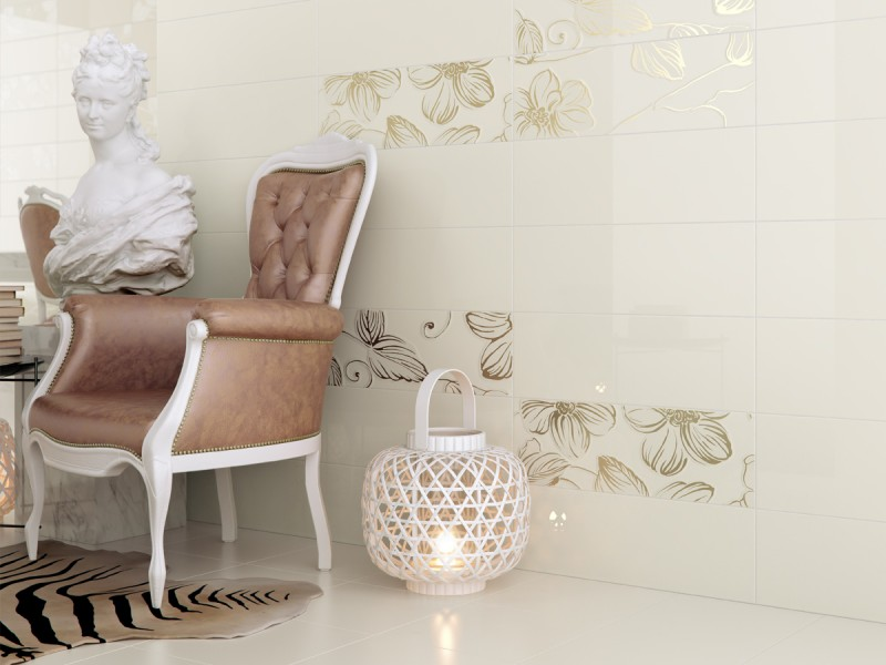 DECOR ANYA GOLD CREAM EAY74